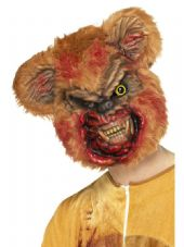 Zombie Teddy Bear Face Mask
